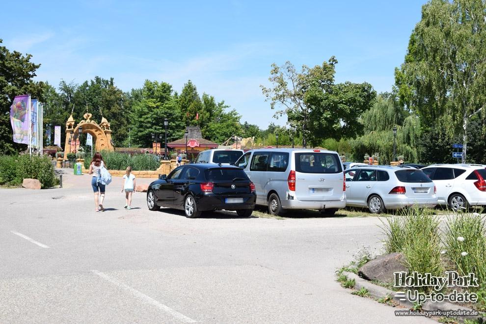 Parkplatz Date